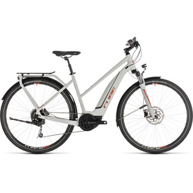 Cube Touring Hybrid 400 - Bicicletas eléctricas de trekking - Trapez gris